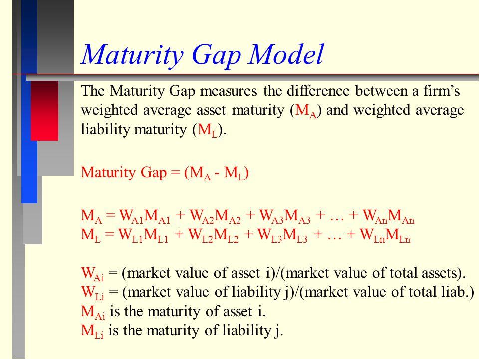 Maturity Gap Model