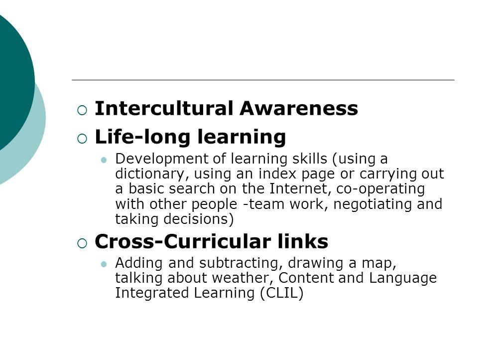 Intercultural Awareness Life-long learning
