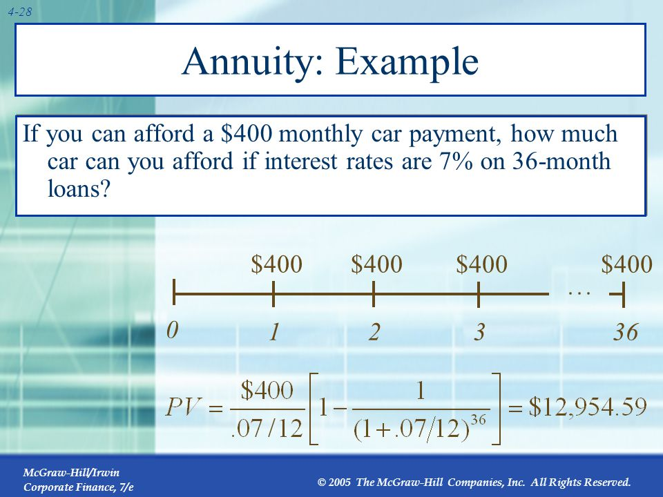 How to Value Annuities with a Calculator