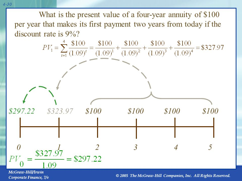 How to Value Lumpy Cash Flows