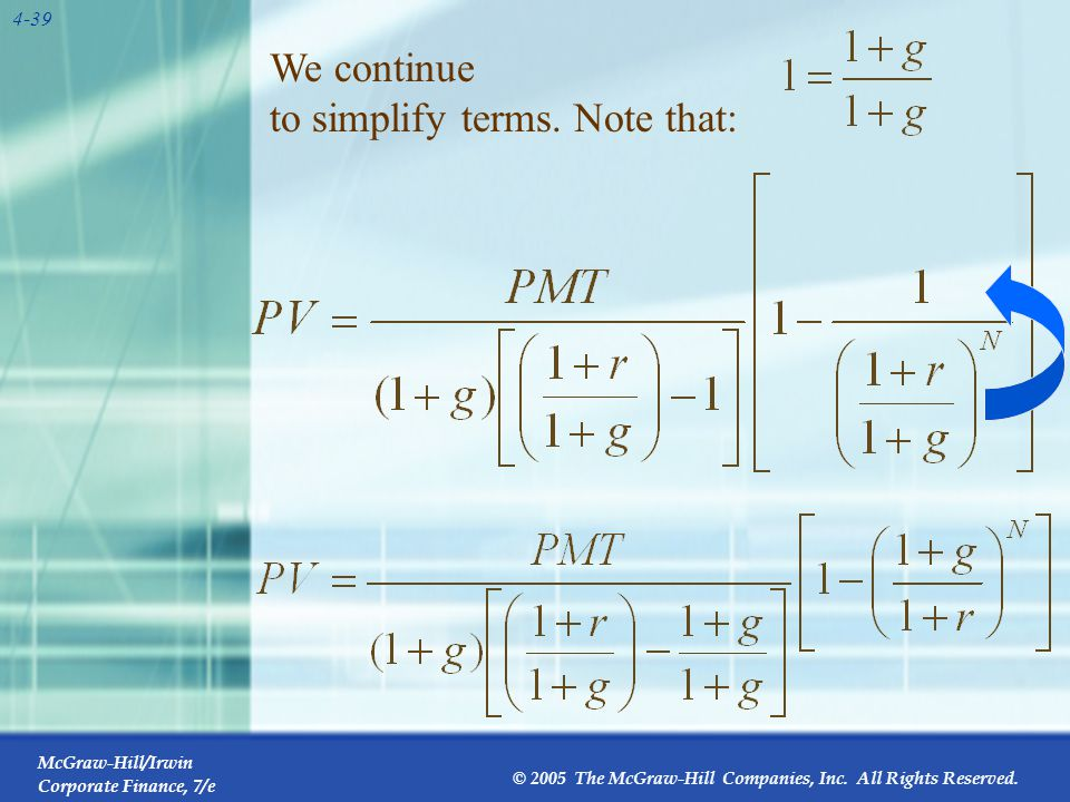 We continue to simplify terms.