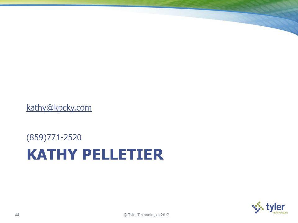 kathy@kpcky.com (859)771-2520 Kathy Pelletier