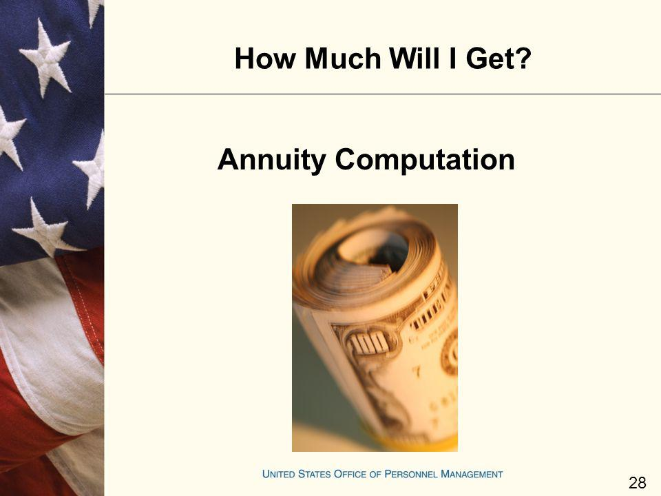 How Much Will I Get Annuity Computation
