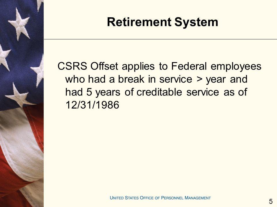 Retirement System
