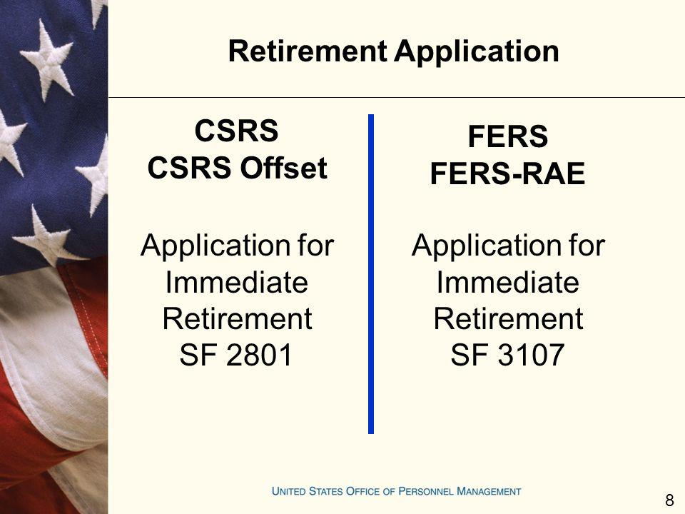 Retirement Application