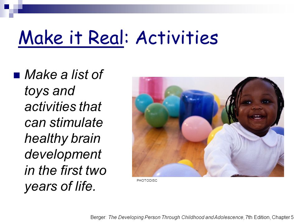 Make it Real: Activities