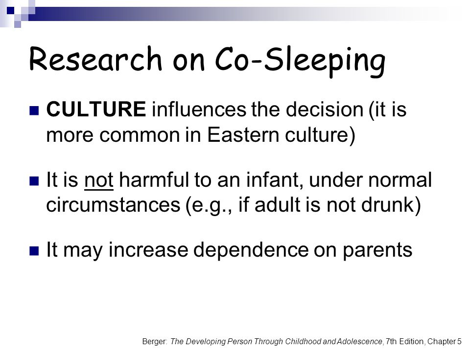 Research on Co-Sleeping