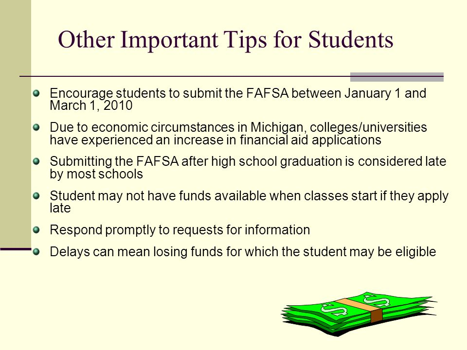 Other Important Tips for Students