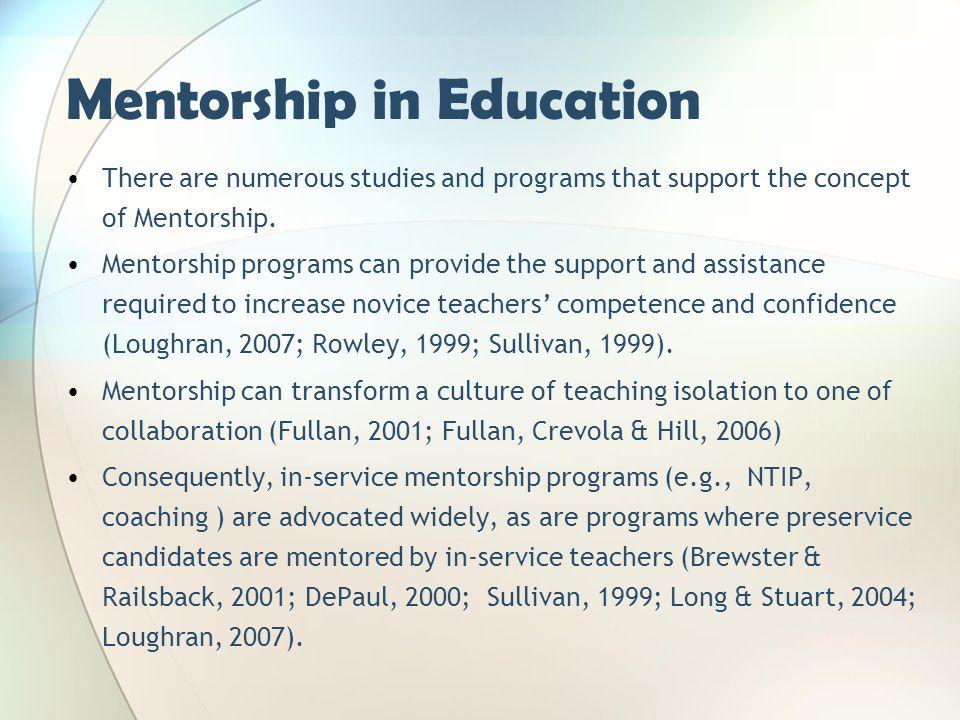 Mentorship in Education