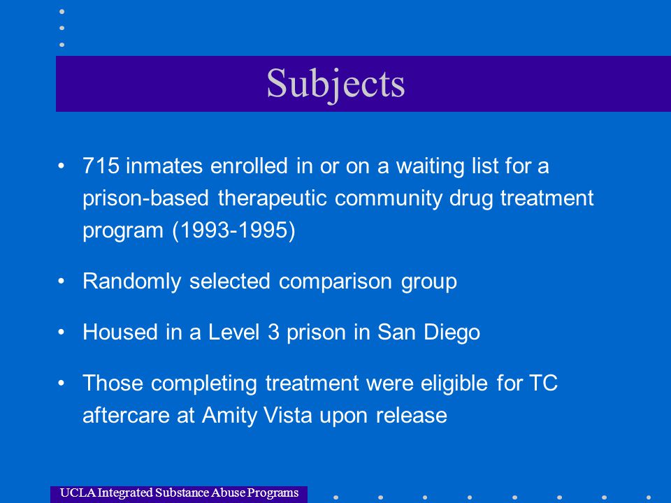 UCLA Integrated Substance Abuse Programs