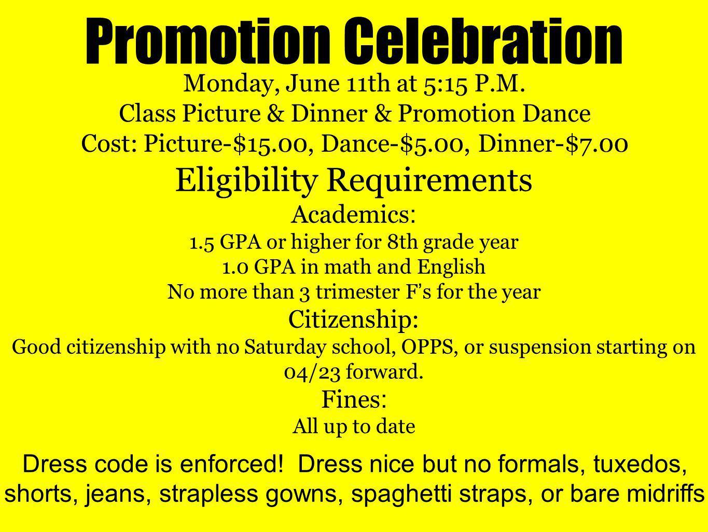 Promotion Celebration