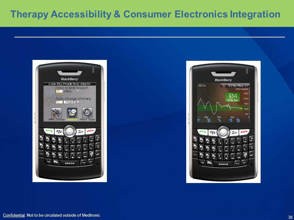 Therapy Accessibility & Consumer Electronics Integration