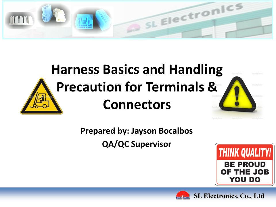 Harness Basics and Handling Precaution for Terminals & Connectors