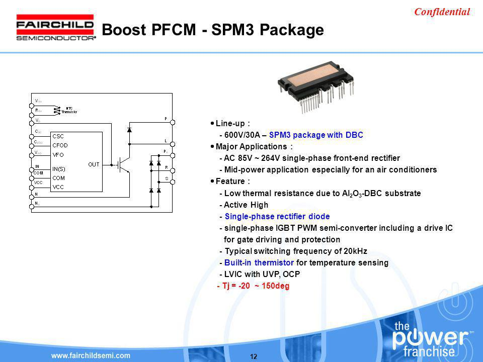 Boost PFCM - SPM3 Package