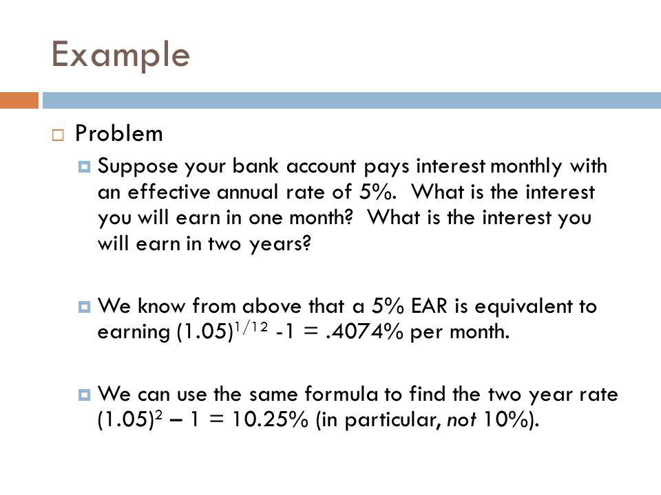 Example Problem.