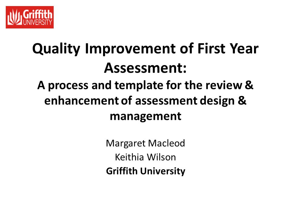 Margaret Macleod Keithia Wilson Griffith University