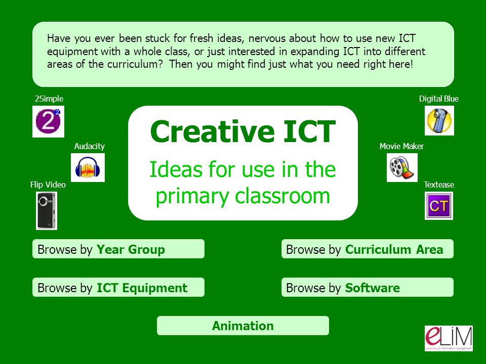Ideas for use in the primary classroom