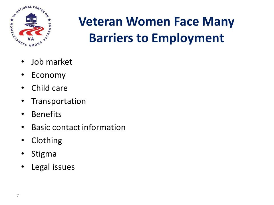Veteran Women Face Many Barriers to Employment