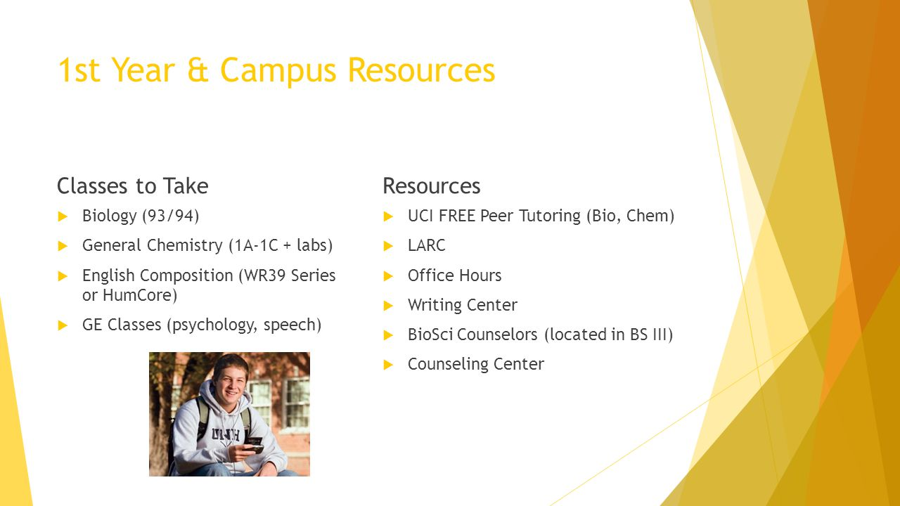 1st Year & Campus Resources