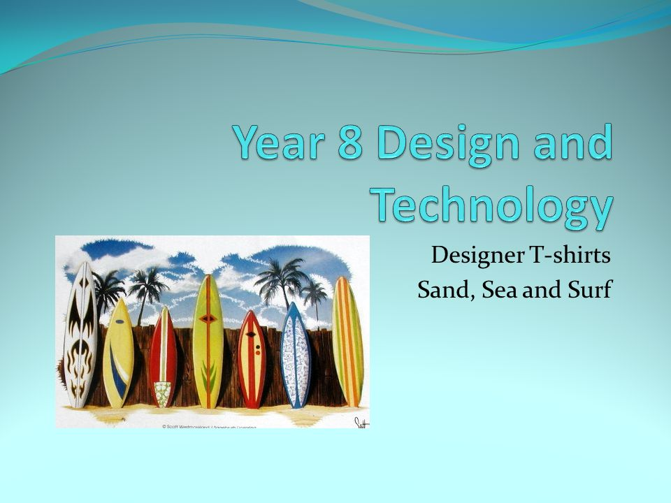 Year 8 Design and Technology