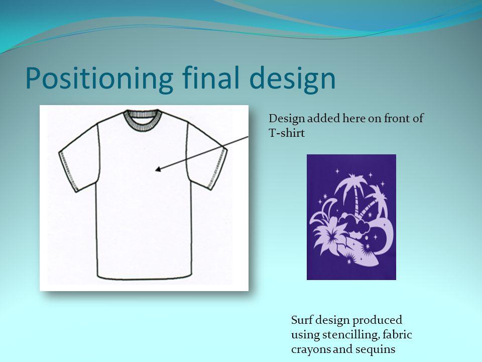 Positioning final design