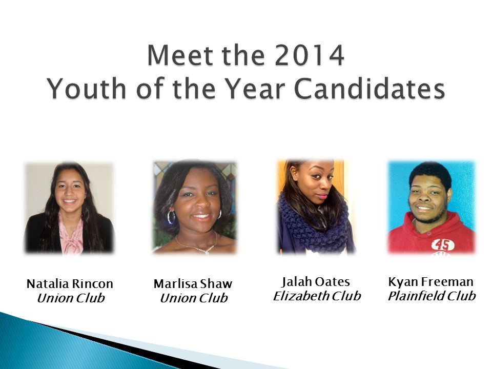 Meet the 2014 Youth of the Year Candidates