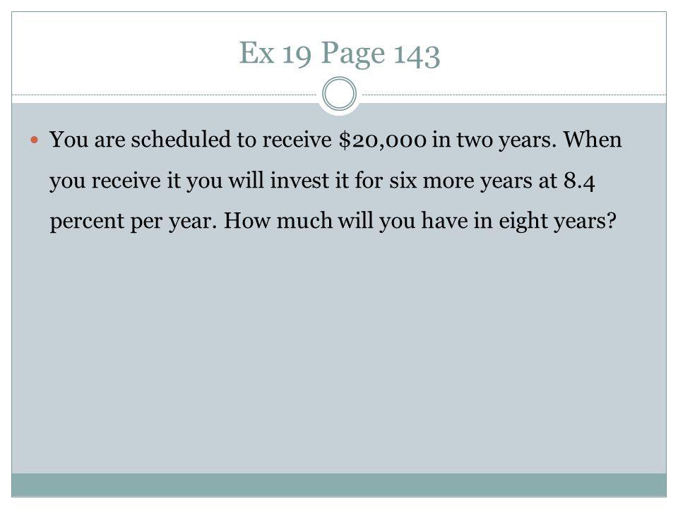 Ex 19 Page 143