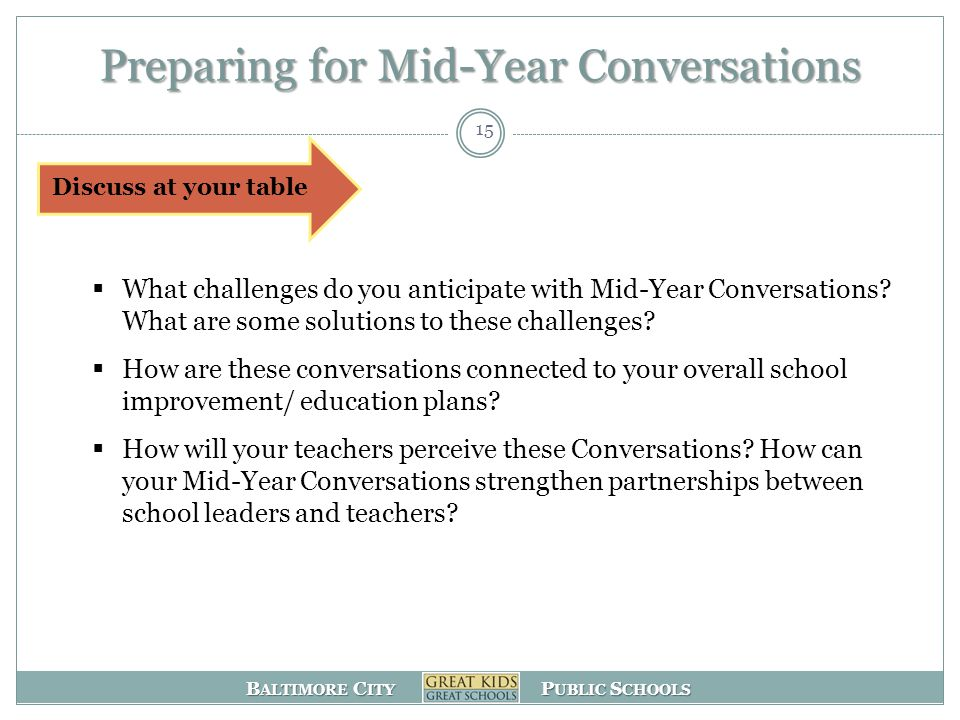 Preparing for Mid-Year Conversations
