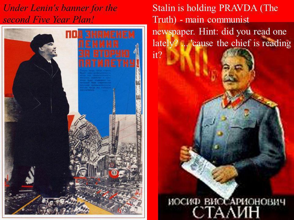 Under Lenin s banner for the second Five Year Plan!