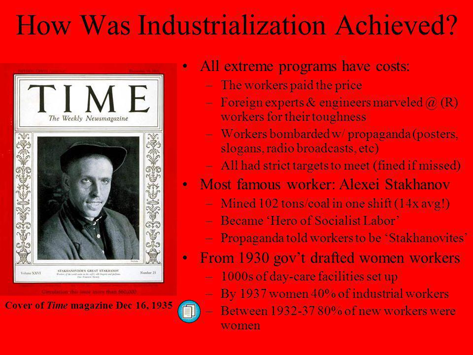 How Was Industrialization Achieved