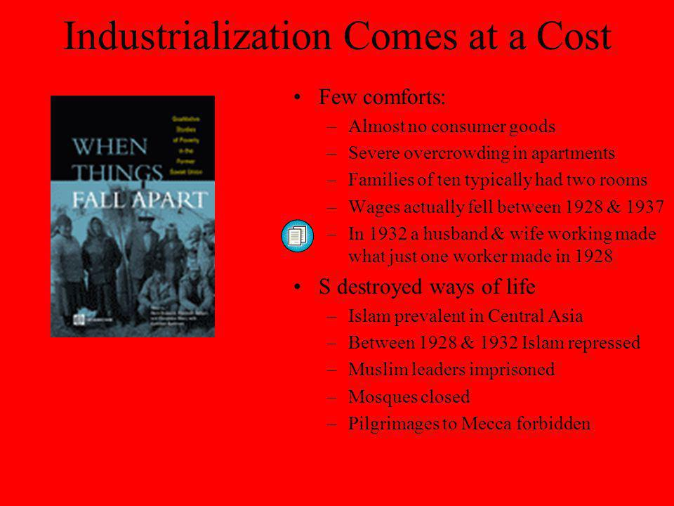 Industrialization Comes at a Cost