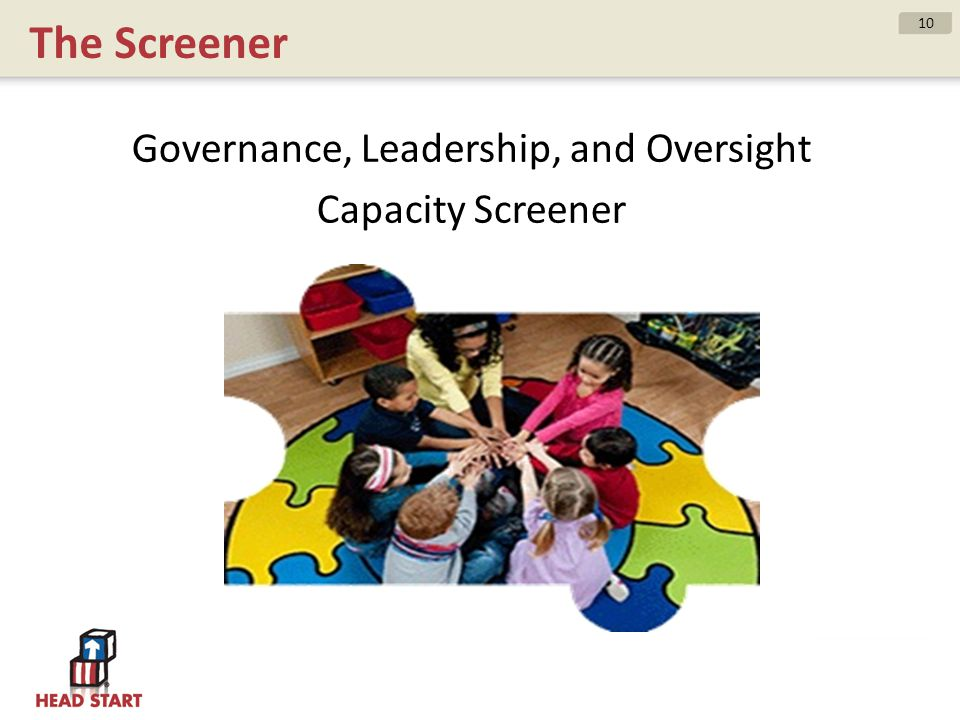 Governance, Leadership, and Oversight Capacity Screener