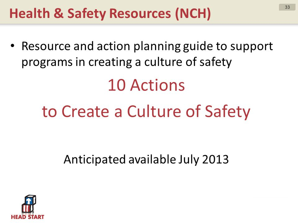 Health & Safety Resources (NCH)