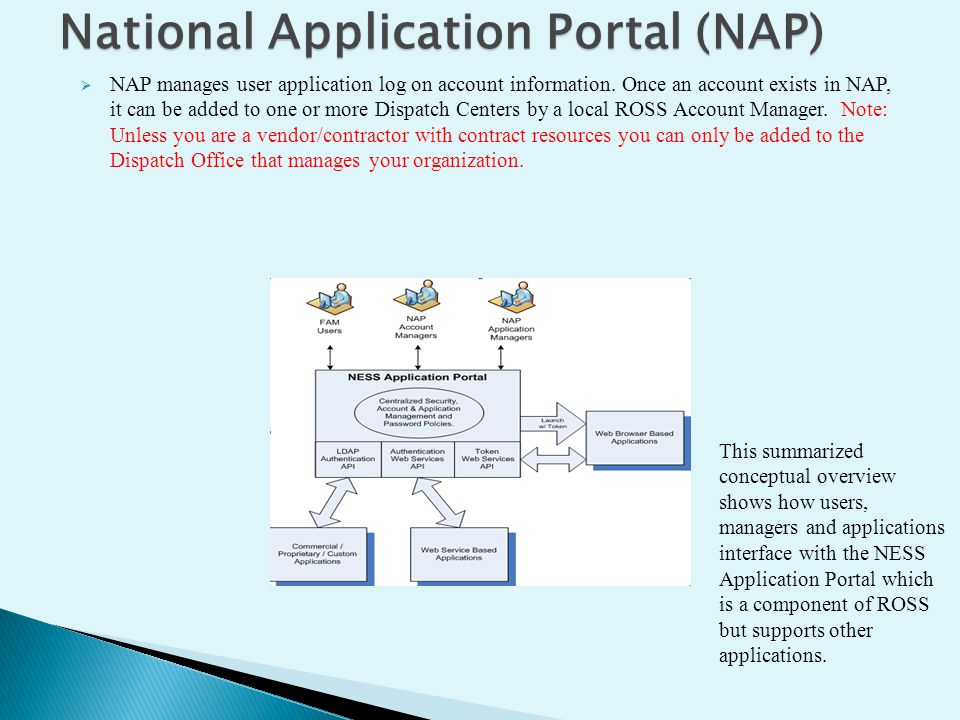 National Application Portal (NAP)