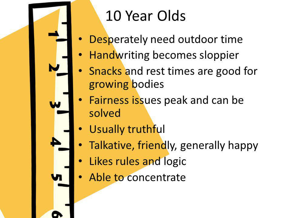 10 Year Olds Desperately need outdoor time