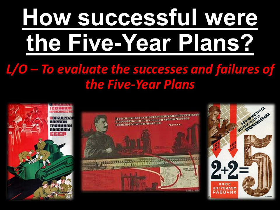 How successful were the Five-Year Plans