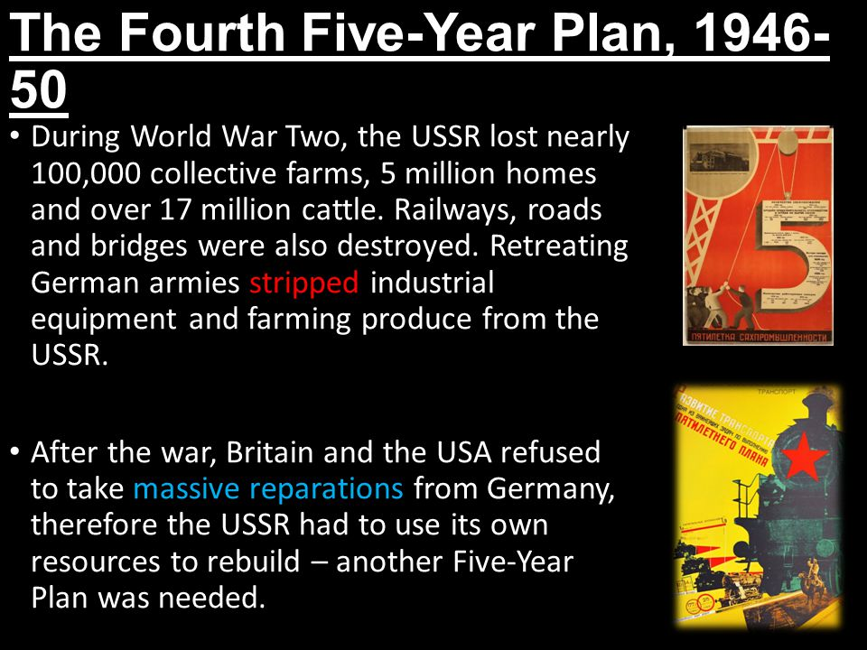 The Fourth Five-Year Plan, 1946-50