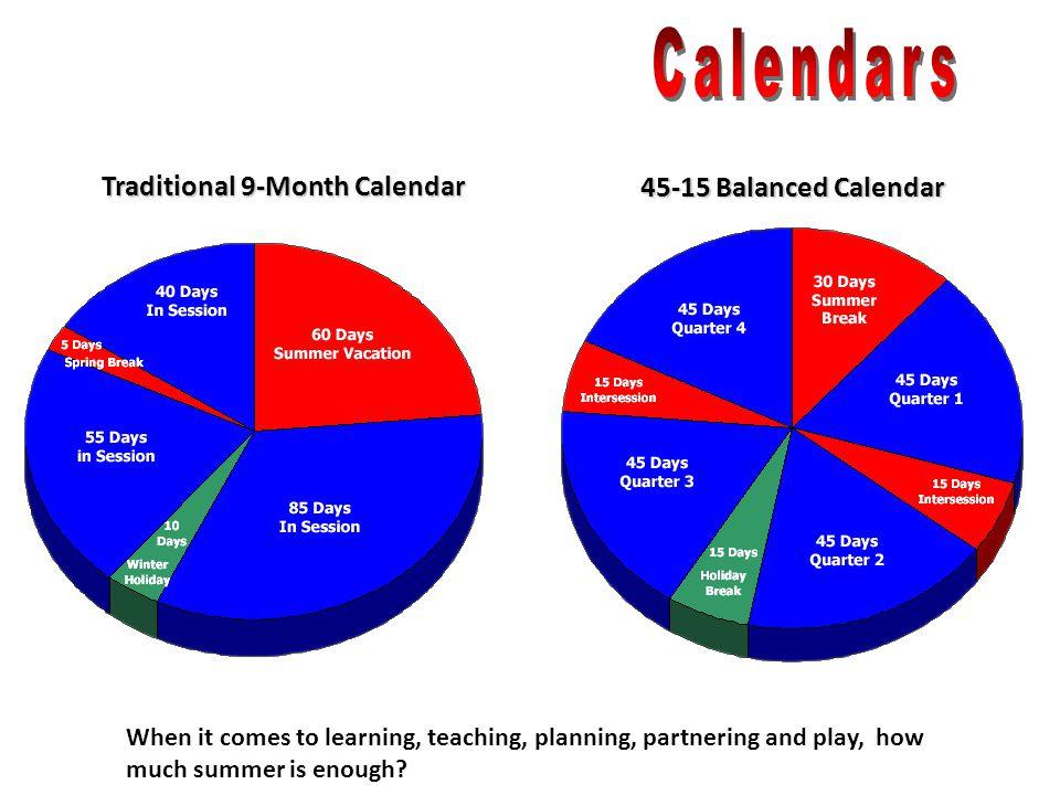 Traditional 9-Month Calendar