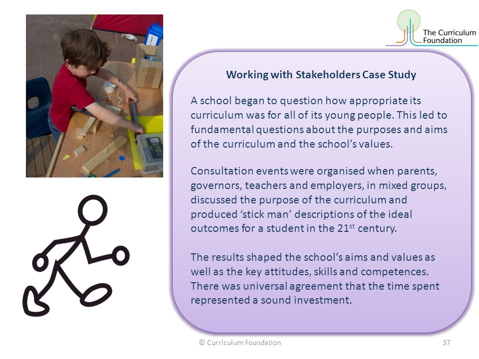 Working with Stakeholders Case Study
