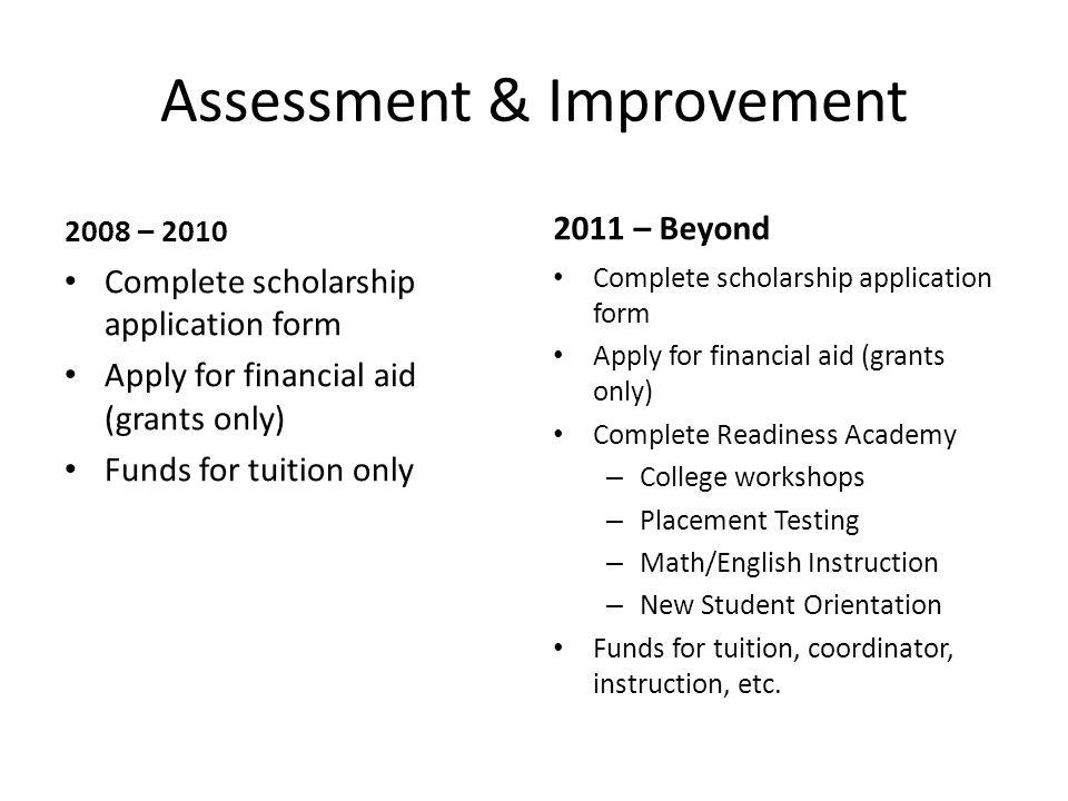 Assessment & Improvement
