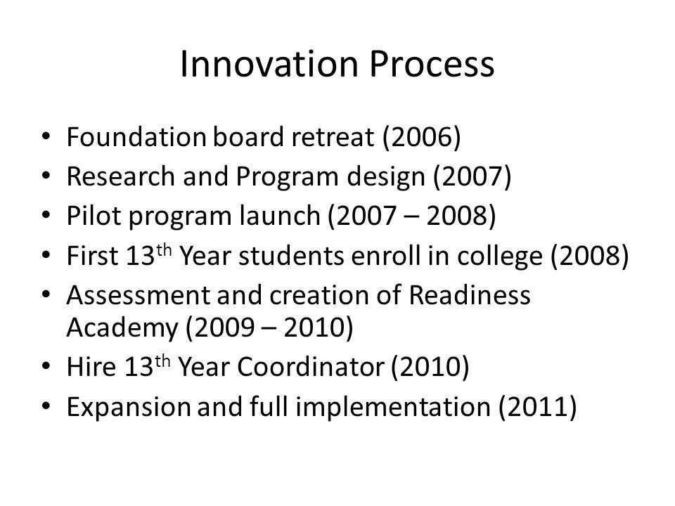Innovation Process Foundation board retreat (2006)