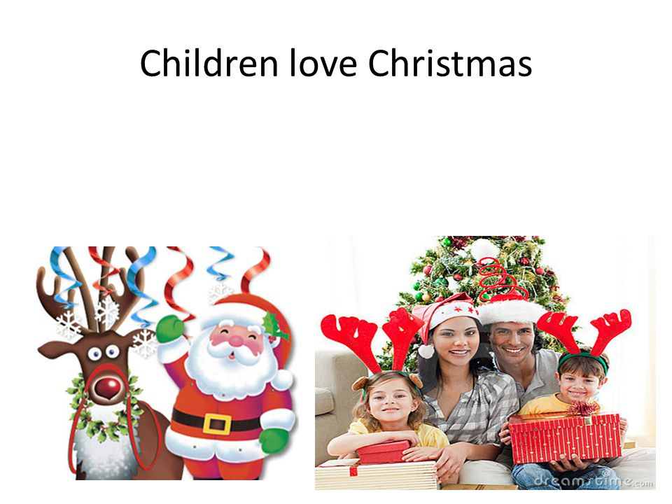 Children love Christmas