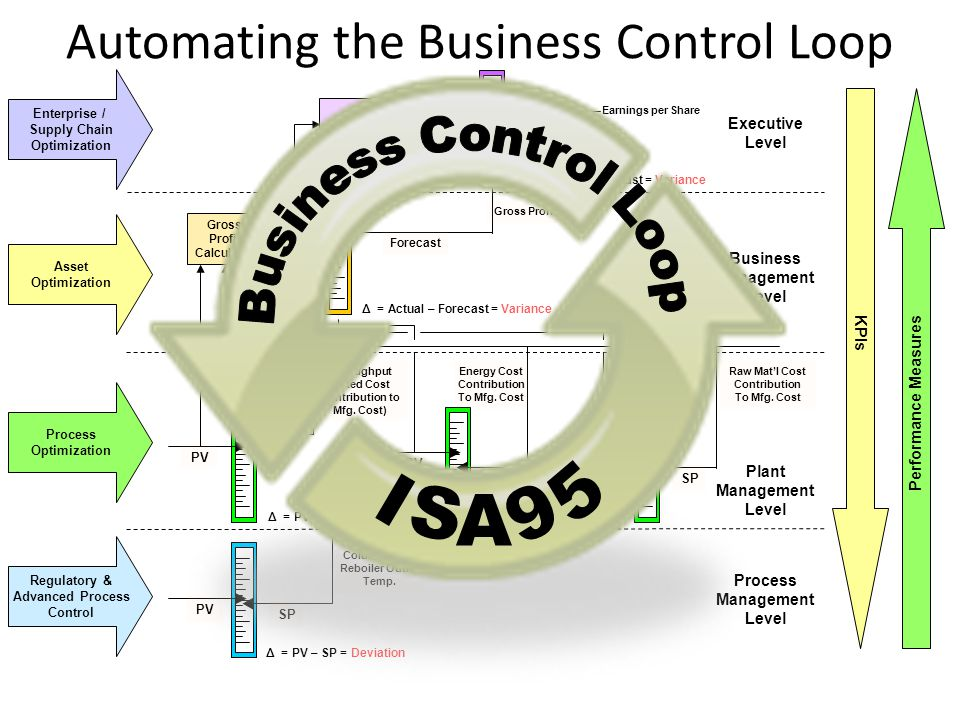 Automating the Business Control Loop