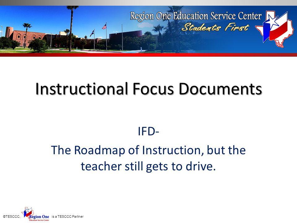 Instructional Focus Documents