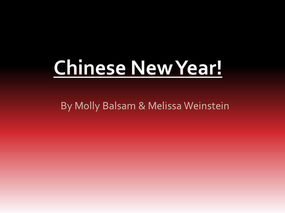 By Molly Balsam & Melissa Weinstein