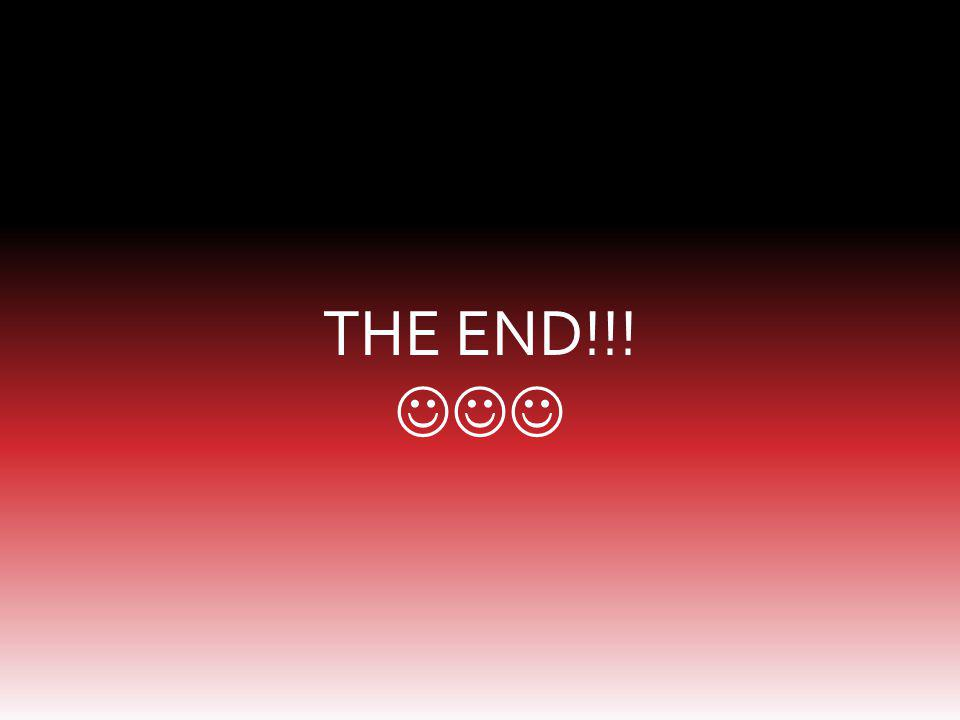 THE END!!! 
