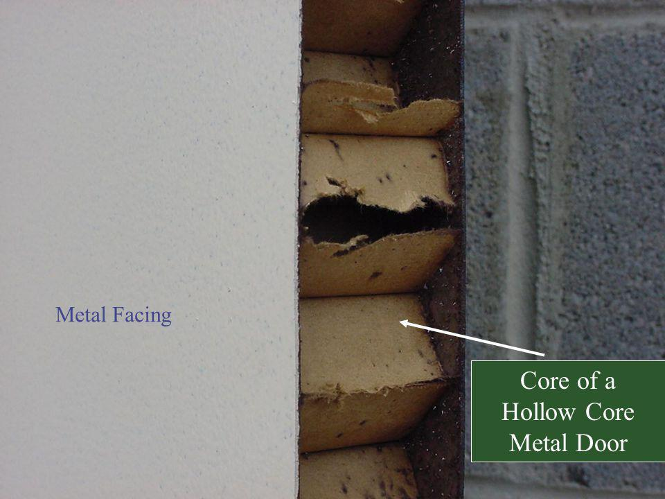 Metal Facing Core of a Hollow Core Metal Door