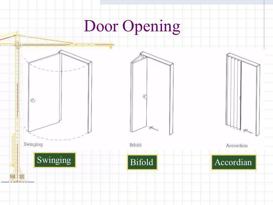 Door Opening Swinging Bifold Accordian