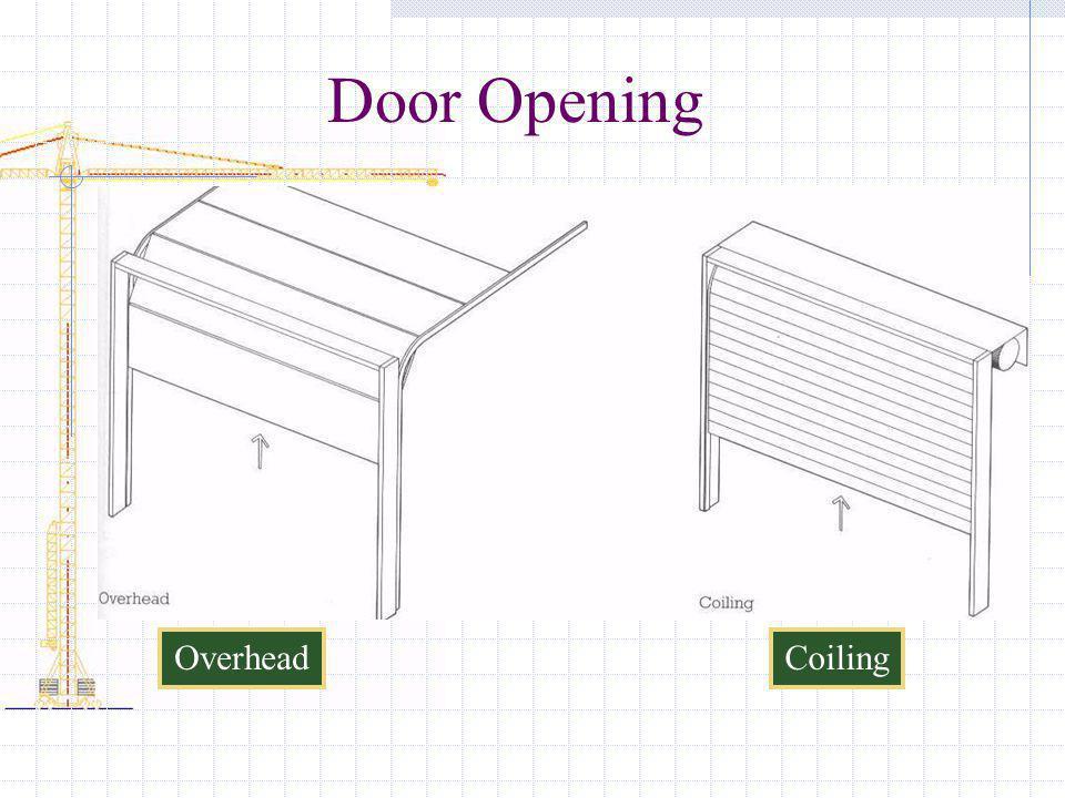 Door Opening Overhead Coiling