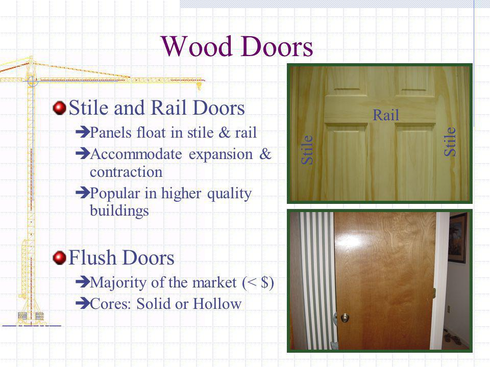 Wood Doors Stile and Rail Doors Flush Doors Rail